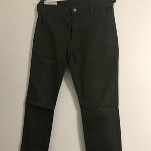 Levi 511 Slim Fit Jeans (Olive Green)